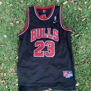 Michale Jordan Chicago Bulls black nike Jersey
